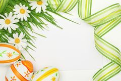 Easter frame Stock Photography