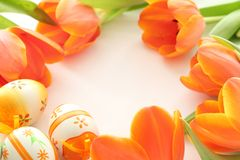 Easter frame Royalty Free Stock Photo