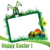 Easter frame stock images