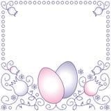 Easter frame Stock Photo