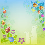 Easter_frame Photos libres de droits