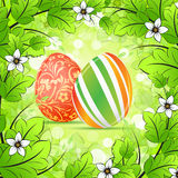Easter Frame  Background Royalty Free Stock Images
