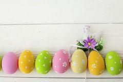 Easter frame background Stock Photography