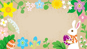 Easter Frame Royalty Free Stock Image