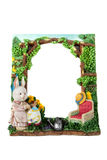 Easter Frame Stock Image