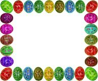 Easter framework Royalty Free Stock Photos