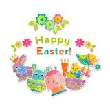 Easter fun background Royalty Free Stock Image