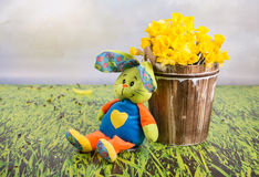 Easter funny picture Stock Image