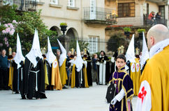 Easter in Galicia (Spain) Stock Images