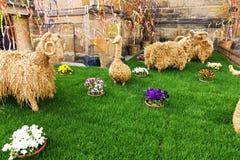 Easter garden Stock Image