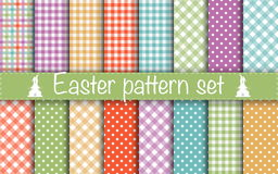 Easter Geometric Patterns Royalty Free Stock Photo