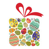 Easter gift Stock Photography