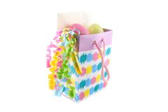 Easter gift bag Royalty Free Stock Image