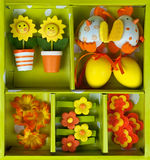 Easter gift set Royalty Free Stock Images