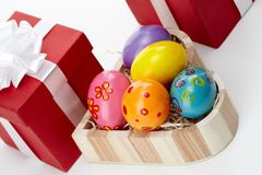 Easter gifts Royalty Free Stock Photo
