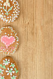Easter ginger breads Royalty Free Stock Photography