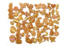 Easter ginger breads Royalty Free Stock Image