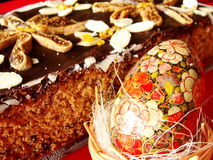 Easter Gingerbread Stock Image