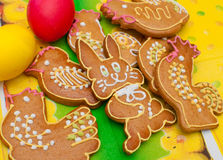 Easter Gingerbread Stock Photo