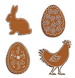 Easter gingerbread Royalty Free Stock Images