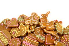 Easter gingerbread cookies - czech tradition Royalty Free Stock Images