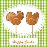 Easter gingerbread cookies Royalty Free Stock Photo
