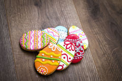 Easter gingerbread. Royalty Free Stock Images
