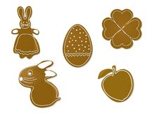 Easter gingerbreads Royalty Free Stock Images