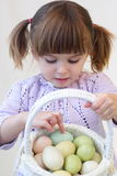 Easter girl Stock Photography
