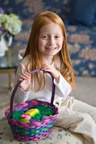 Easter Girl Stock Images