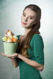 Easter girl Royalty Free Stock Photography