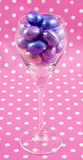 Easter glass Stock Image