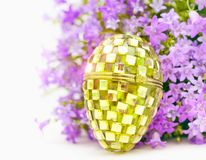 Easter glass egg Royalty Free Stock Photos