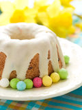 Easter glazed cake Stock Photos