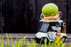 Easter with Golf Stock Photography