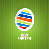 Easter Green Background Stock Images