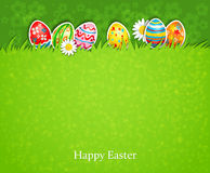 Easter green background Stock Photography