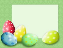 Easter green background for your lettering royalty free stock photo