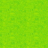 Easter Green Seamless Pattern Stock Photos
