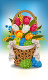 Easter greeting Royalty Free Stock Photos