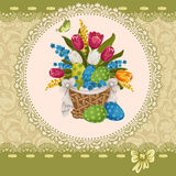 Easter greeting Royalty Free Stock Images