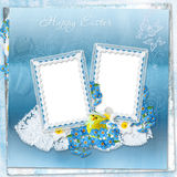 Easter greeting background Stock Photography