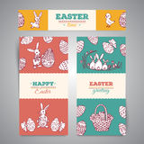 Easter greeting banners Royalty Free Stock Photo