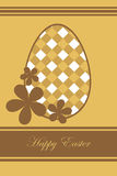 Easter greeting card. Illustration of a background for easter, useful as greeting card.EPS file available Royalty Free Stock Photo