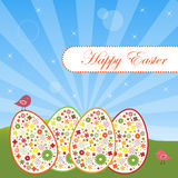 Easter greeting card Royalty Free Stock Image