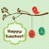 Easter greeting card. Illustration Stock Images