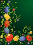 Easter greeting card,  Royalty Free Stock Photo