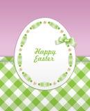 Easter greeting card vector illustration