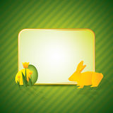 Easter greeting card Stock Photo