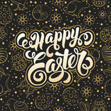 Easter Greeting Card Design Stock Images
